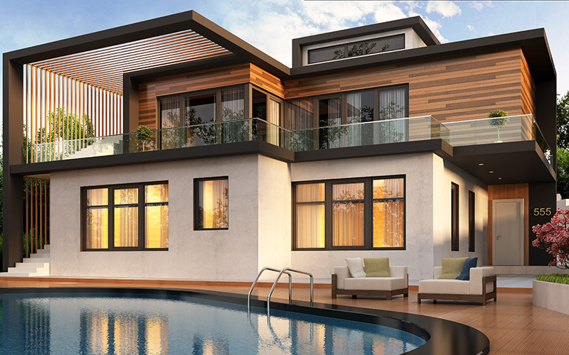 Dual Occupancy House